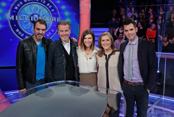 Ron Carlivati, Ian Buchanan, Finola Hughes, Meredith Vieira Jason Thompson, Who Wants to Be a Millionaire
