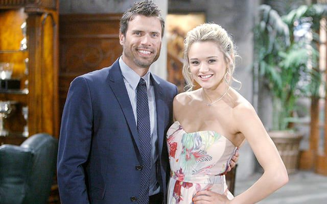The Young and the Restless, Hunter King, Joshua Morrow