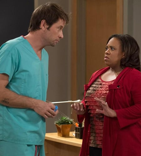 Chandra Wilson, Grey's Anatomy, Roger Howarth