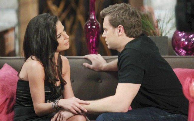 Kelly Monaco and Billy Miller