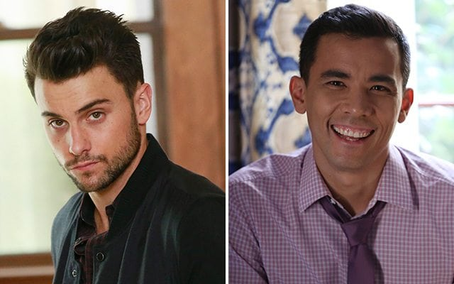 Jack Falahee, Conrad Ricamora, How to Get Away with Murder