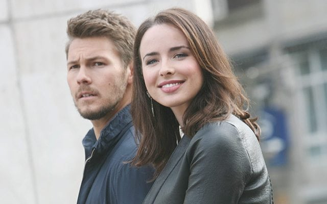 Scott Clifton, Ashleigh Brewer