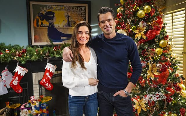 Y&R. Sharon. Christmas. Love. 2021 Y R Celebrates Christmas With New And Rekindled Love And A Life On The Line Soap Opera Network