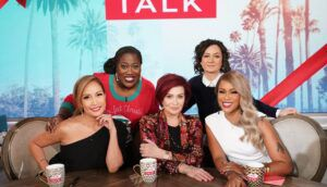 The Talk, Carrie Ann Inaba, Sheryl Underwood, Sara Gilbert, Eve, Sharon Osbourne