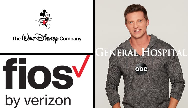 Steve Burton, General Hospital, GH, Verizon FiOS, The Walt Disney Company