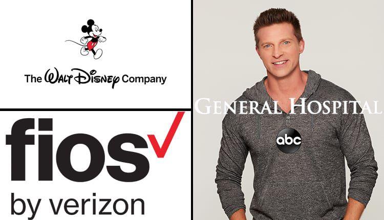 Steve Burton, General Hospital, GH, Verizon FiOS, The Walt Disney Company