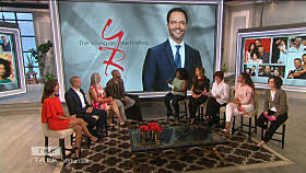 The Talk, The Young and the Restless, Christel Khalil, Bryton James, Shemar Moore, Victoria Rowell