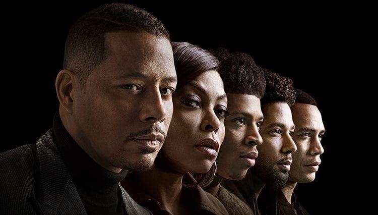 Empire, Terrence Howard as Lucious Lyon, Taraji P. Henson as Cookie Lyon, Bryshere Y. Gray as Hakeem Lyon, Jussie Smollett as Jamal Lyon and Trai Byers as Andre Lyon