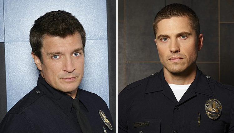 The Rookie, Nathan Fillion, Eric Winter