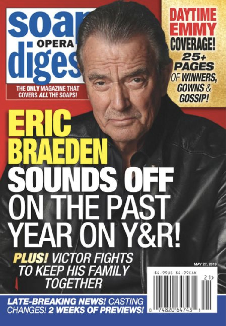 Soap Opera Digest, Eric Braeden, The Young and the Restless