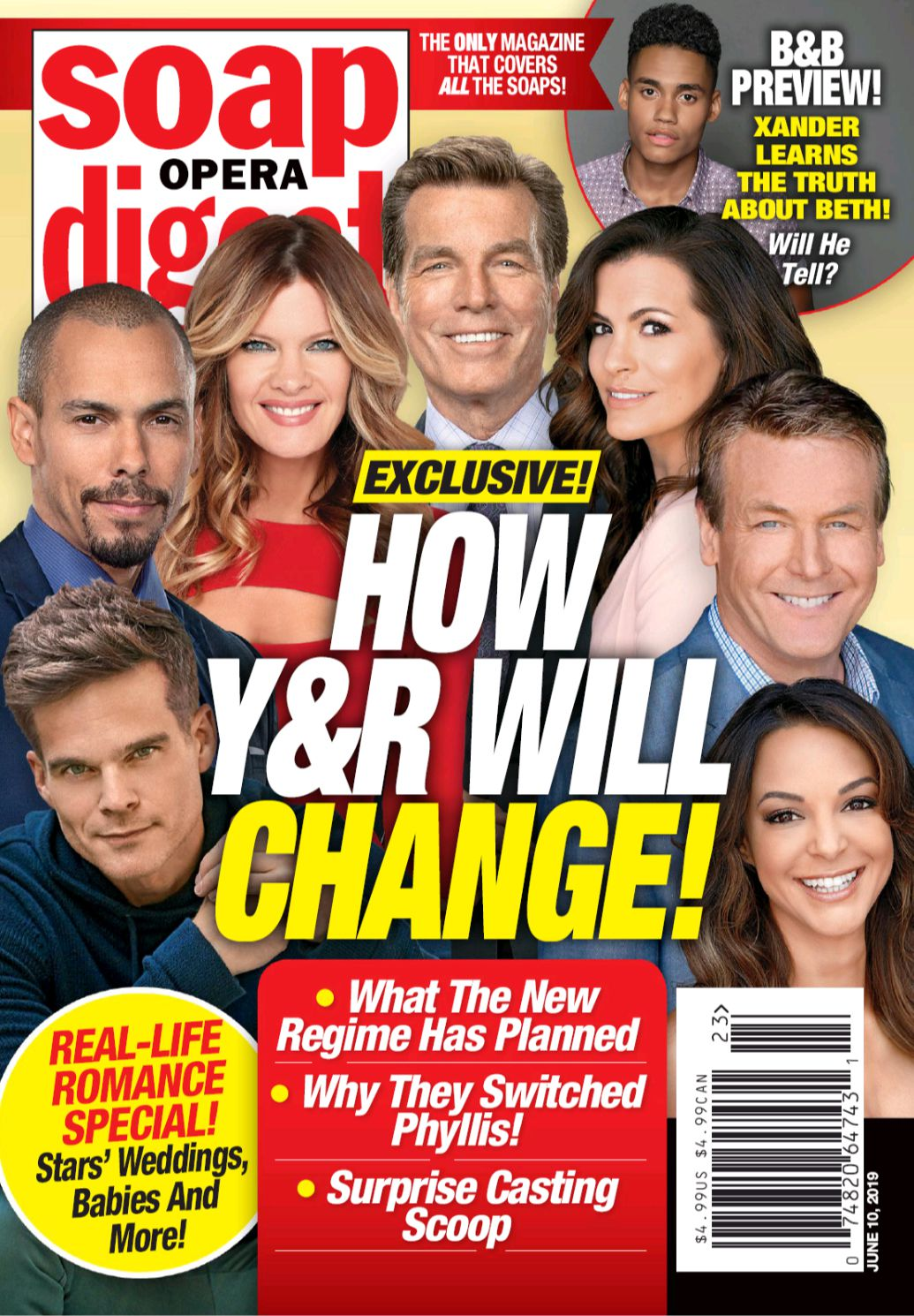 Soap Opera Digest, Cover Story, The Young and the Restless
