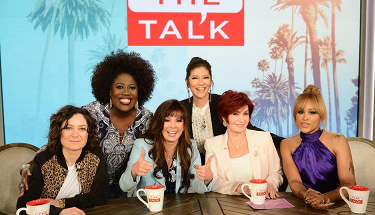 Sheryl Underwood, Sara Gilbert, Marie Osmond, Sharon Osbourne, Eve, Julie Chen, The Talk