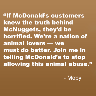 Moby, McDonal's Campaign