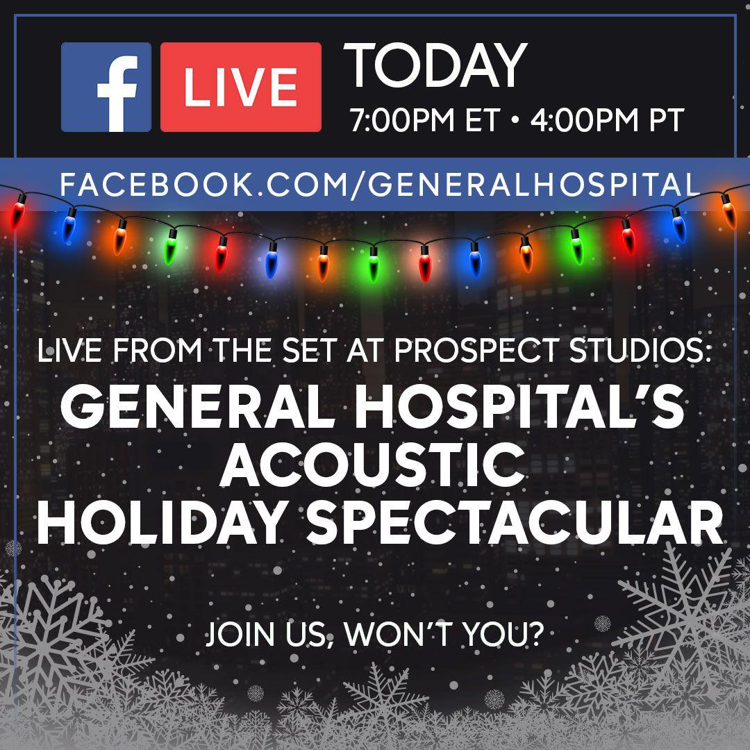 General Hospital, Facebook