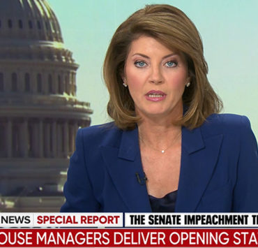 Norah O'Donnell, CBS News, Impeachment Trial