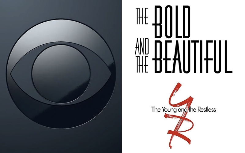 CBS, The Bold and the Beautiful, The Young and the Restless