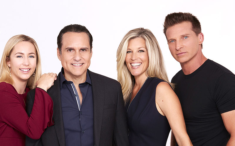 General Hospital, Eden McCoy, Maurice Benard, Laura Wright, Steve Burton