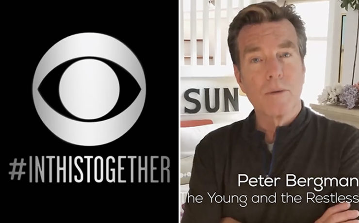 Peter Bergman, The Young and the Restless, #InThisTogether, CBS