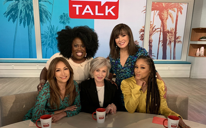 The Talk, Sheryl Underwood, Carrie Ann Inaba, Marie Osmond, Sharon Osbourne, Eve