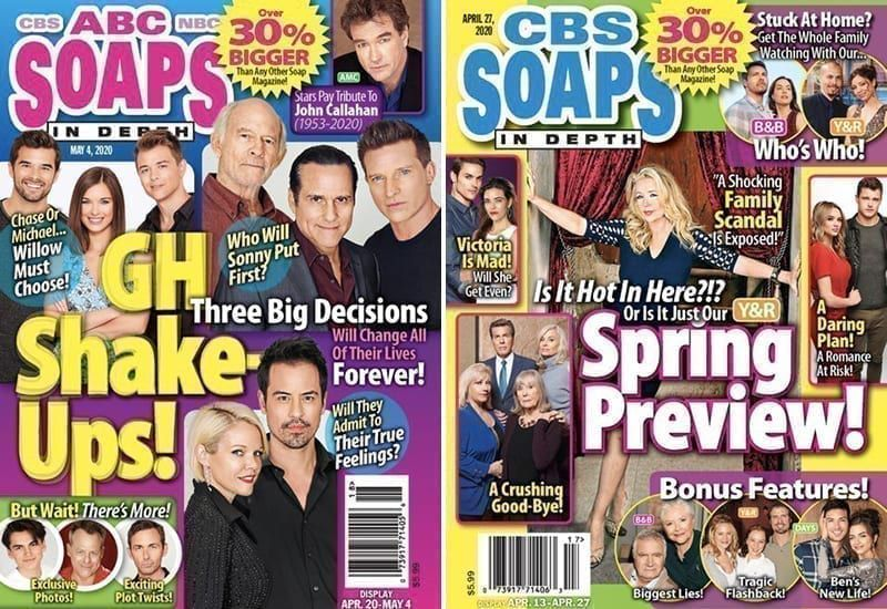 ABC Soaps In Depth, CBS Soaps In Depth, Soaps In Depth, Soaps In Depth Magazine, SoapsInDepth.com