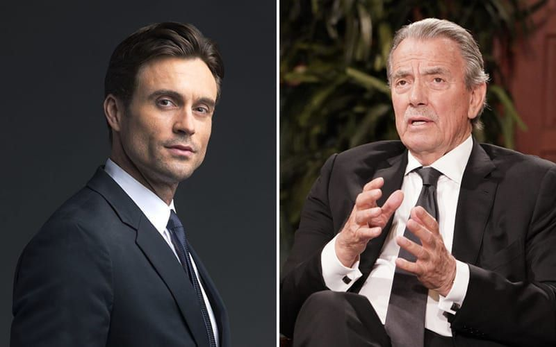Daniel Goddard, Eric Braeden, The Young and the Restless