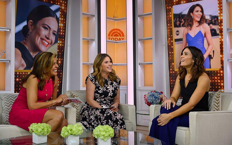 The Today Show with Hoda & Jenna, Hoda Kotb, Jenna Bush Hager, Mandy Moore