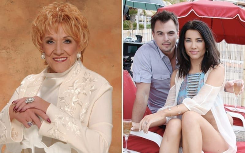 Jeanne Cooper, Darin Brooks, Jacqueline MacInnes Wood, The Young and the Restless, The Bold and the Beautiful