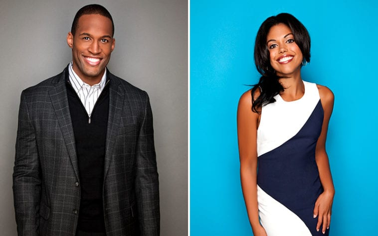 Lawrence Saint-Victor, Karla Mosley, The Bold and the Beautiful, Guiding Light