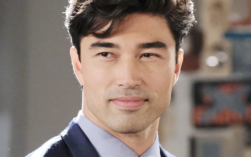 Remington Hoffman, Days of our Lives, Chad and Abby in Paris, Li Shin