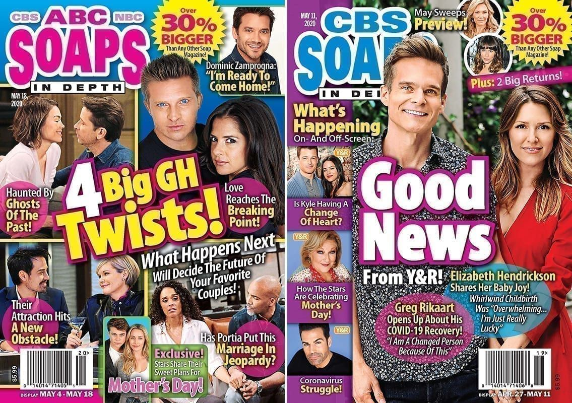 ABC Soaps In Depth, CBS Soaps In Depth, Soaps In Depth