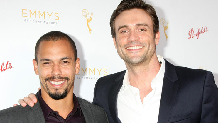 Bryton James, Daniel Goddard, The Young and the Restless