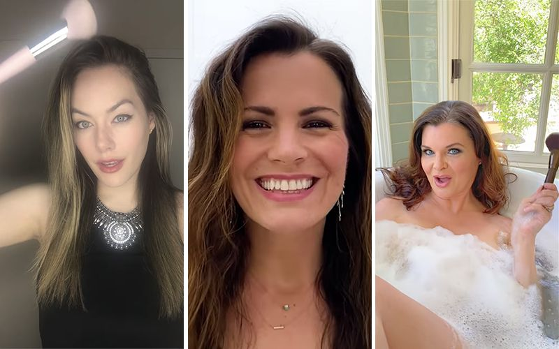 Annika Noelle, Melissa Claire Egan, Heather Tom, #DontRushChallenge, The Bold and the Beautiful, The Young and the Restless