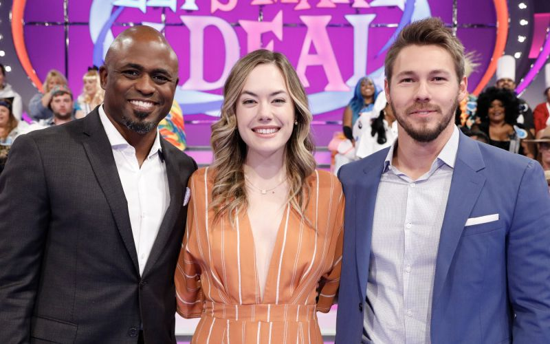 Let's Make a Deal, Wayne Brady, Annika Noelle, Scott Clifton, The Bold and the Beautiful