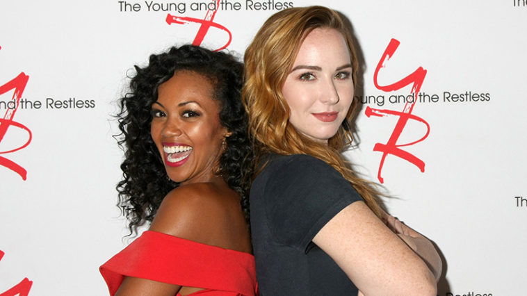 Mishael Morgan, Camryn Grimes, The Young and the Restless
