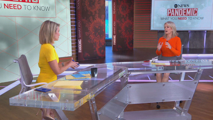 Pandemic: What You Need To Know, Amy Robach, Dr. Jennifer Ashton