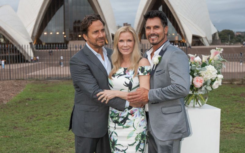 Thorsten Kaye, Katherine Kelly Lang, Don Diamont, The Bold and the Beautiful