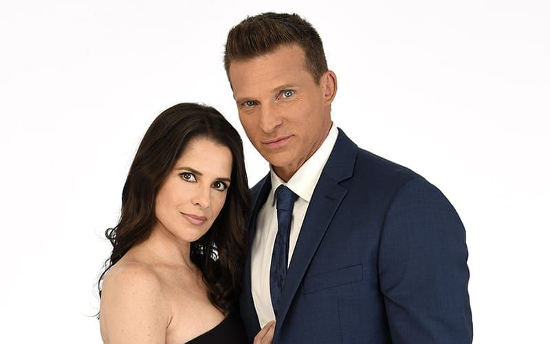 General Hospital, Kelly Monaco, Steve Burton