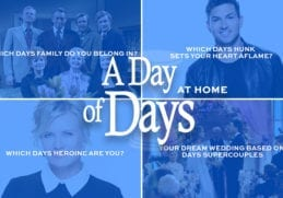 Days of our Lives, A Day of Days, Day of Days 2020, #DayofDays2020, #DAYS