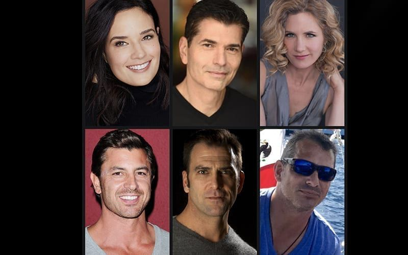 Another World, Joseph Barbara (ex-Joe Carlino), Timothy Gibbs (ex-Gary Sinclair), Mark Mortimer (ex-Nick Hudson), Allison McDonnell Page (ex-Emily Maddox), Dahlia Salem (ex-Sofia Carlino), Diego Serrano