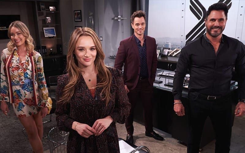 Katrina Bowden, Hunter King, Darin Brooks, Don Diamont, The Bold and the Beautiful, The Young and the Restless