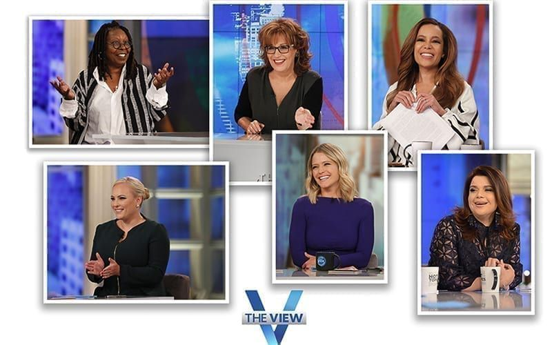 The View, Whoopi Goldberg, Joy Behar, Sunny Hostin, Meghan McCain, Sara Haines, Ana Navarro