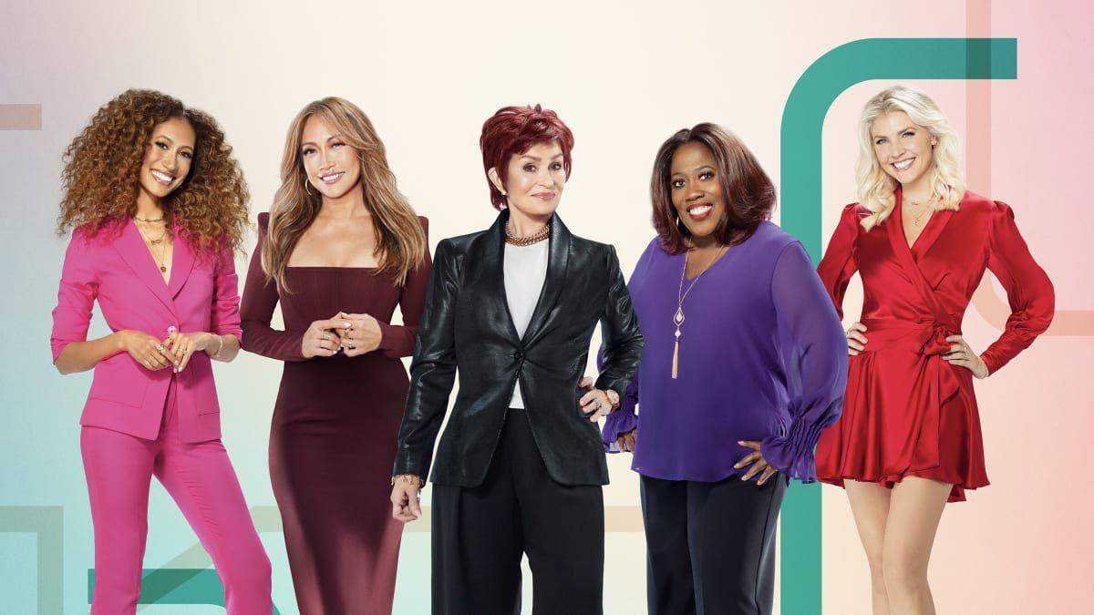 Elaine Welteroth, Carrie Ann Inaba, Sharon Osbourne, Sheryl Underwood, Amanda Kloots, The Talk