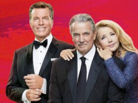 Peter Bergman, Eric Braeden, Melody Thomas Scott, The Young and the Restless