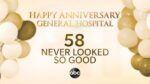 General Hospital, GH, ABC Daytime, 58th Anniversary