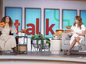 Elaine Welteroth, Carrie Ann Inaba, The Talk