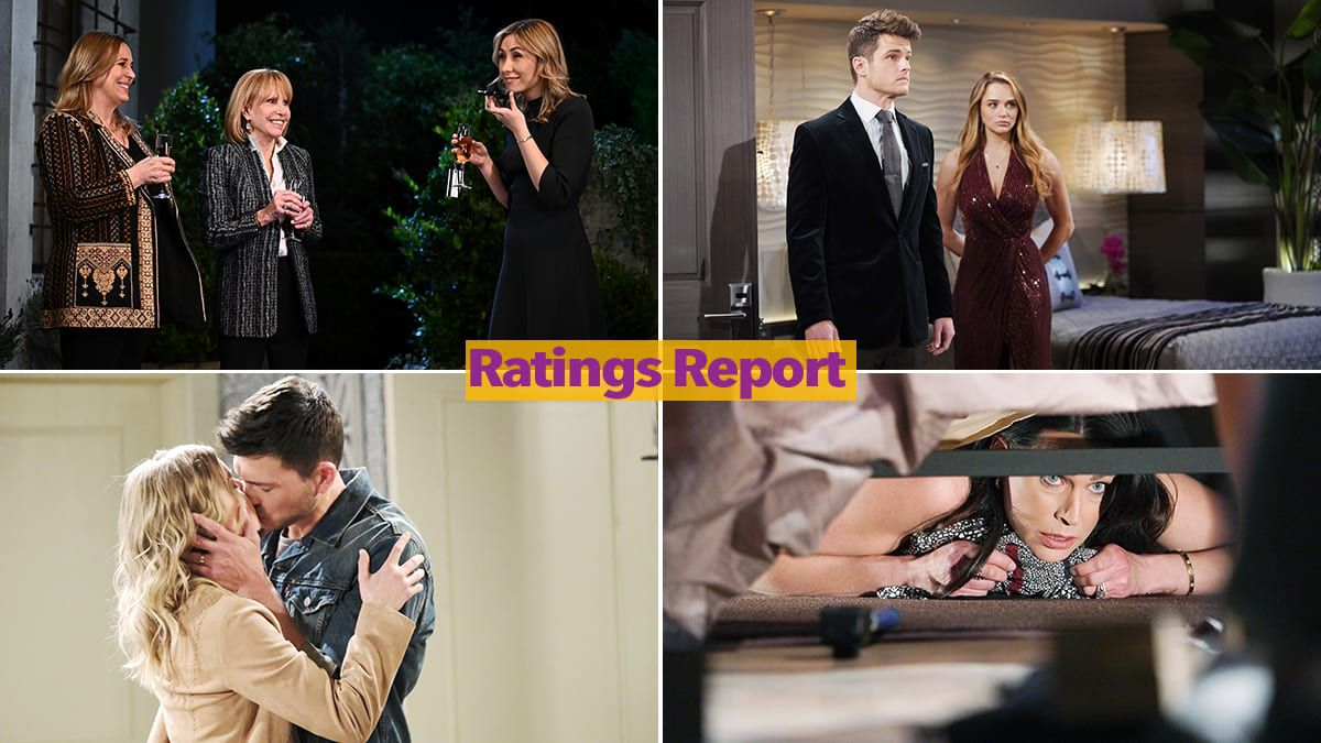 Ratings Report, The Bold and the Beautiful, Days of our Lives, General Hospital, The Young and the Restless