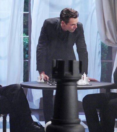 Eric Braeden, Jason Thompson, Mark Grossman, The Young and the Restless
