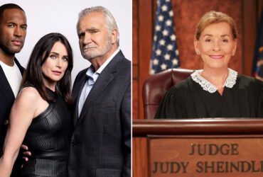 Lawrence Saint-Victor, Rena Sofer, John McCook, The Bold and the Beautiful, Judge Judy Sheindlin, Judge Judy