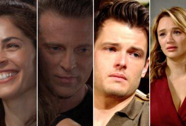 Kelly Thiebaud, Steve Burton, Michael Mealor, Hunter King, General Hospital, The Young and the Restless