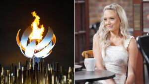 2020 Tokyo Olympics, Melissa Ordway, The Young and the Restless